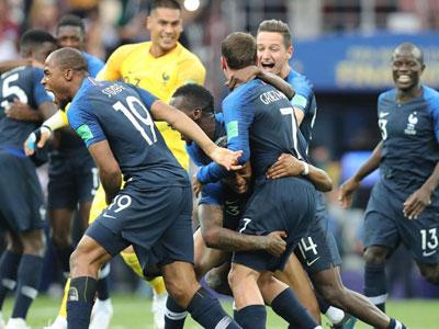 Frankreich Ist Fussball Weltmeister 2018